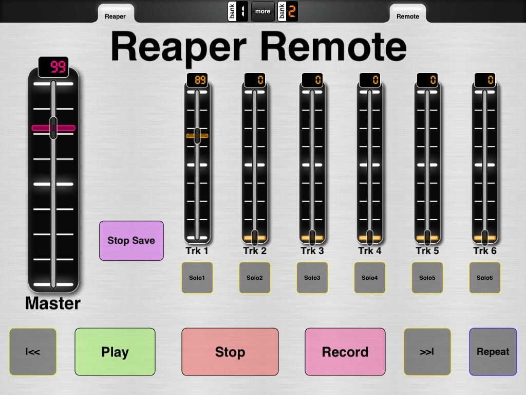 Simple Reaper remote control with Reaper key file - MIDI Designer Q&A