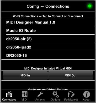 Chapter 3: Getting Connected [MIDI Designer Reference Manual Version