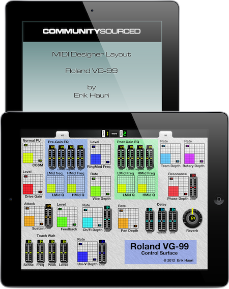 Title for Community Layout for Roland VG-99