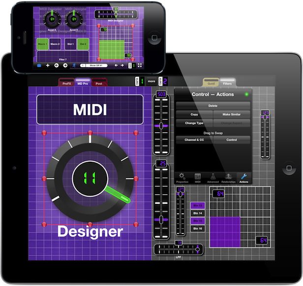 MIDI Designer :: dream | create | play :: your perfect MIDI