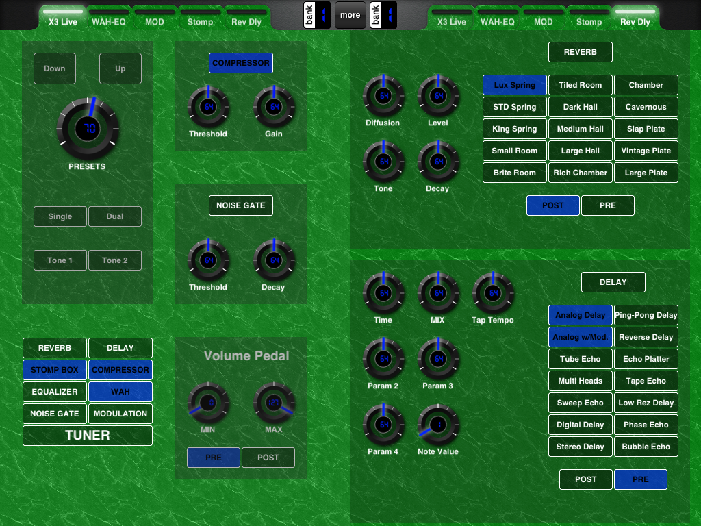 Call for Layouts: Line6 POD Family of Controllers - MIDI