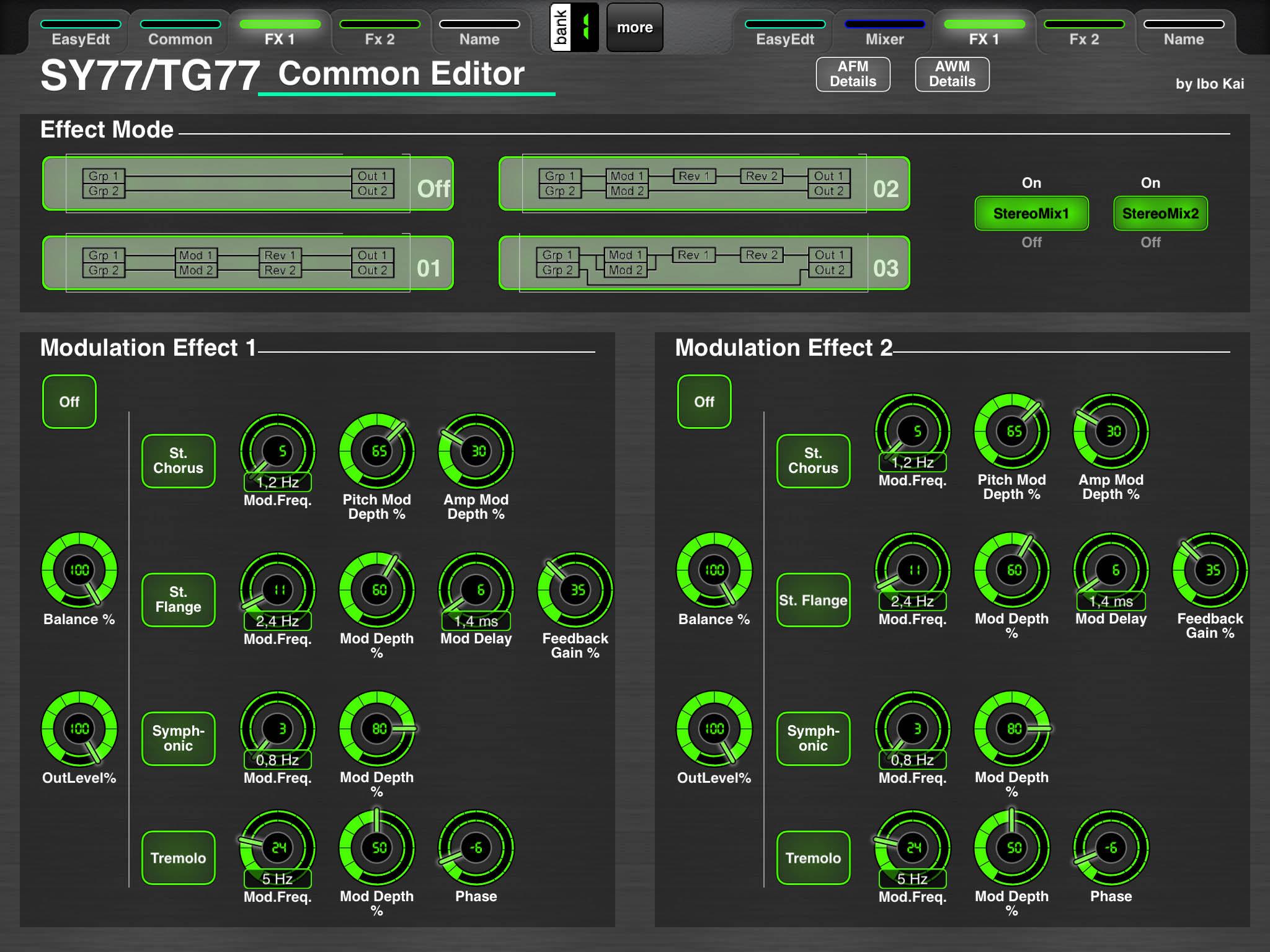 LAYOUT: Yamaha SY77/TG77 Voice Editor - MIDI Designer Q&A