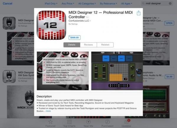 MIDI Designer 12 at $999