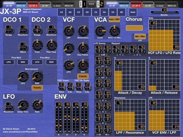 Roland JX-3P (Organix Expansion)