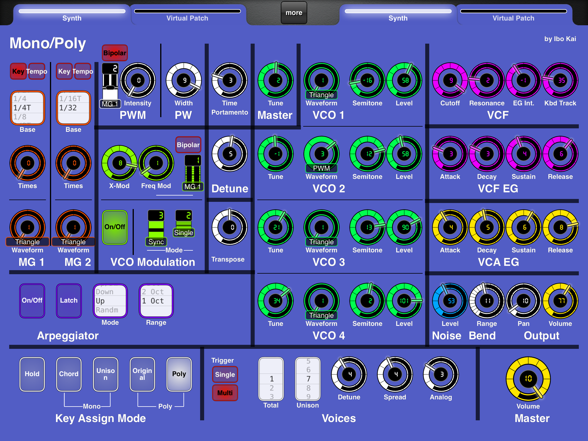 LAYOUT: Korg MonoPoly VST (from Legacy Collection) - MIDI Designer Q&A