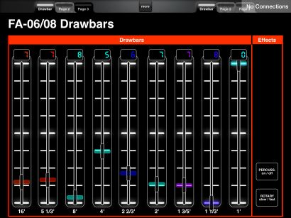 Drawbars for Midi Designer 12: