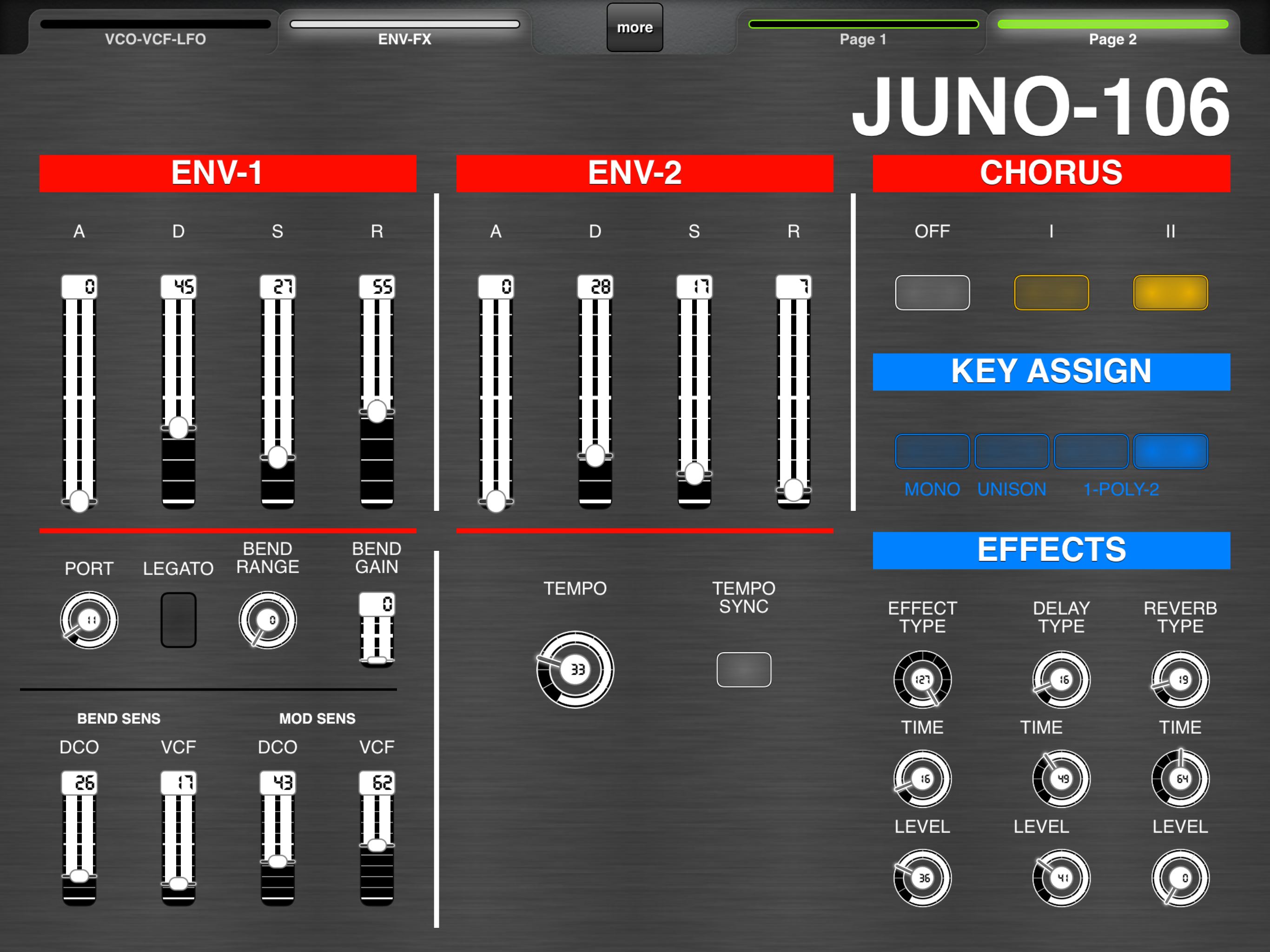 Here is my Juno 106 Layout for Roland Cloud - MIDI Designer Q&A