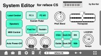 LAYOUT: Reface Series System Editor (iPhone): 1