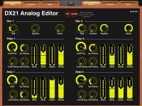 LAYOUT: Yamaha DX21 Analog Editor: 1
