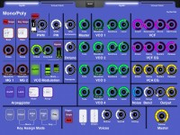 LAYOUT: Korg MonoPoly VST (from Legacy Collection): 1