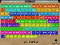 Layout: GM 1 Sound set: 1