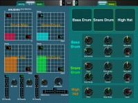 LAYOUT: Anushri Synth's Drum Machine: 2