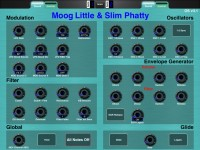 LAYOUT: Moog Little & Slim Phatty, OS v3.1: 1