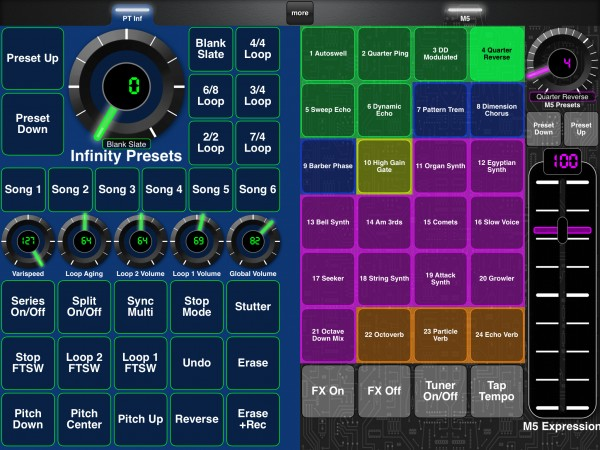 Line6 M5 Page + Pigtronix Infinity Page