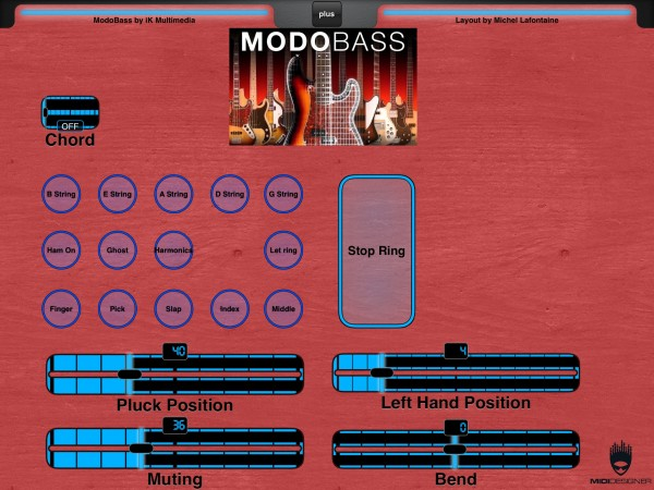 Modo Bass Layout