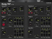 Layout: Korg 707 (released V1.5): 2