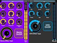 LAYOUTS:  Source Audio Manta Bass Filter and Bass OFD: 1
