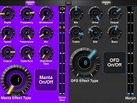 LAYOUTS:  Source Audio Manta Bass Filter and Bass OFD: 2