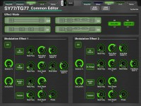 Yamaha SY77/TG77 Voice Editor Screenshot