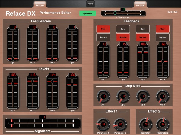 Yamaha Reface DX Performance Editor by Ibo Kai (Classic)