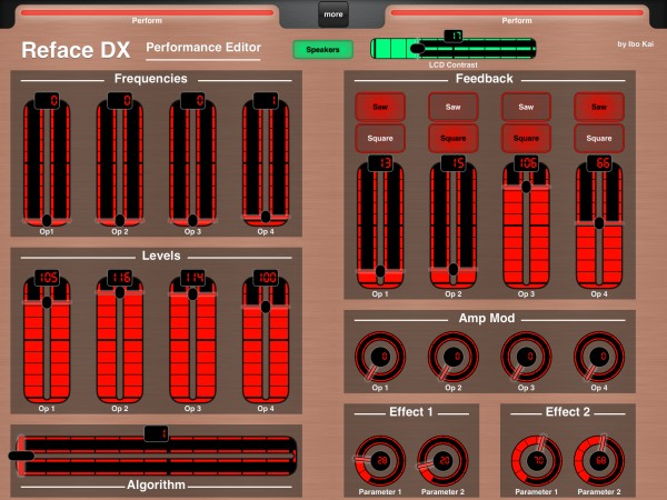 Yamaha Reface DX Performance Editor by Ibo Kai (Glow)