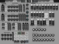 LAYOUT: editor for Yamaha TG500: 2