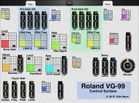 LAYOUT: A MIDI Controller for the Roland VG-99 V-Guitar System: 1