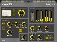 Sound Programmer for Kawai K1 for MDP2: 2