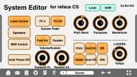 LAYOUT: Reface CS System Editor for iPhone: 1