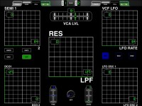 LAYOUT: Roland JX-8P, designed for patch creation and live performance: 2