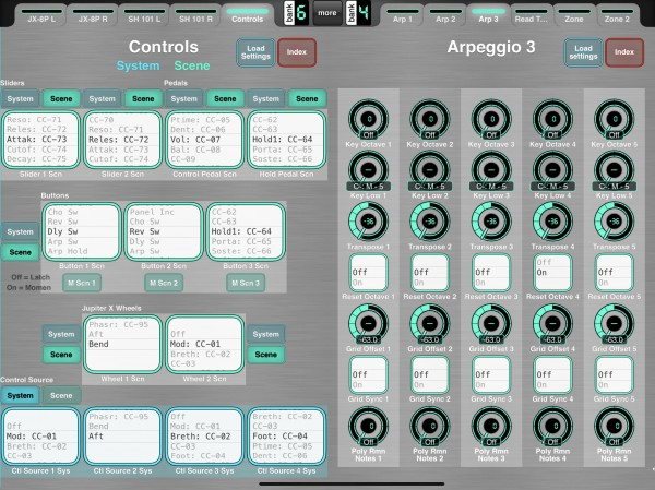 Improved Controls Editor, Including Jupe X Wheels, New iArp Page 3