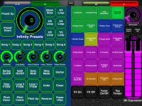 LAYOUTS:  Pigtronix Infinity Looper and Line6 M5: 2
